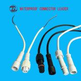 IP68 2pins 15 a in connettori impermeabili del collegare dell'alimentazione elettrica del LED