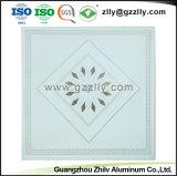 Square ignifugação de ligas de alumínio acústico polimérico de teto com a norma ISO9001