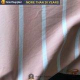 Estofos em tecido Hometextile Listra tecido tingidos de fios de poliéster para Lençol