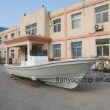 De Vissersboot van de Glasvezel van de Fabrikant van de Boot van Panga van Liya 25FT met Aanhangwagen