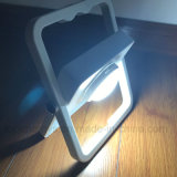 携帯用屋外LED作業ライト組み込み力バンク