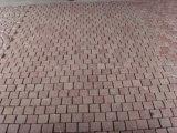 Rote Farben-Granit-Würfel/Bordstein/Cooble/Pflasterung-Steine für die Landschaftsgestaltung/Parken/Fahrstraße/Gehweg