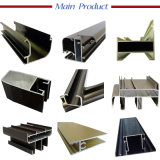 Hoogste-verkoopt het Profiel van het Aluminium voor de de de Aangepaste Grootte/Kleur/Dikte van het Venster Deur