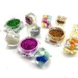 Variété de couleurs résistants aux solvants glitter ongle, visage, le corps de l'artisanat et l'impression