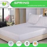 Hotel lujo contra la alergia protector de colchón higiene hoja cubierta instalada