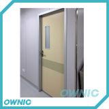 Puerta manual de la sala de la puerta de oscilación del marco de la aleación de Alu