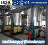 le coton des graines de tournesol 10-200td injecte la chaîne de production d'huile végétale