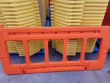 Barreira plástica da cerca da estrada da laranja 1X2m