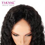 Yvonne Virgin 머리 180% 조밀도 깊은 파 레이스 정면 가발