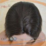 Europäische Haar-Haut-Oberseite-Spitze-Perücke (PPG-l-017484)