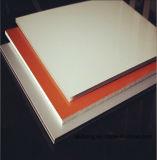 순수한 백색 4mm PVDF 외부 알루미늄 합성 위원회 ACP 장