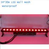 14PCS 30W RGB LED Flut-Stadiums-lineares Stab-Licht für im Freien