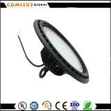 UFO gran cantidad de lúmenes 110-130V Meanwell Highbay de buena calidad LED para almacén con CE