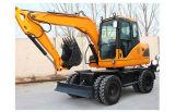 La alta calidad Yrx80-L de la excavadora de ruedas