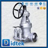 Válvula de puerta de Wcb de la válvula de derivación del Bw de Didtek