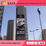 GM-P10 для использования вне помещений полноцветная реклама светодиодный дисплей панели управления