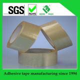 La cinta de acrílico SGS/ISO de la base BOPP del agua de la cinta del embalaje del cartón aprobó
