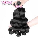 I capelli umani del Virgin peruviano di Yvonne impacchettano l'onda allentata