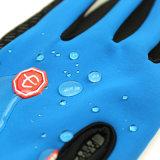 2017 heiß, 3 Farben-haltbare weiche warme im Freien wandernde kampierende Skifahren-wasserdichte Nylonhandschuh-Fahrunisexhandschuhe mit Reißverschluss verkaufend