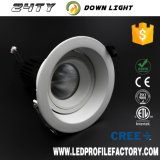 16W LED Downlight, 그만두어지는 120mm, LED Downlight LED를 가진 LED Downlight