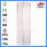 Portes Bifold à abats-sons se pliantes de cabinet de salle de bains de Bi interne
