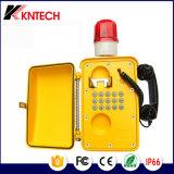 2017 Хорошие отзывы Экстренный телефон Knsp-08L Vandal Resistant Telephone Водонепроницаемый с громкоговорителем