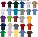 Хлопок основные обычная футболка с коротким гильзы