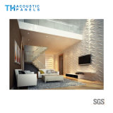 Panneau décoratif intérieur de l'absorption 3D saine de fibre de polyester d'imperméabilisation de l'eau pour le mur de fond