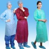 Abito chirurgico di SMS Steriled, cappotto a gettare di di gestione, abito di di gestione