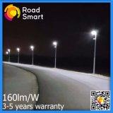 Lámpara solar arquitectónica del jardín de las luces de calle del diseño 15W-50W 160lm/W LED