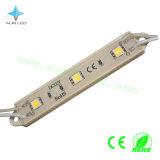 módulo de 0.72W 60lm 3LEDs SMD5050 LED para la muestra al aire libre/de interior del LED/hacer publicidad de la carta de la señalización/del metal