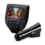 GPSの小型隠された車DVRはカメラ販売1080P完全なHDのレコーダーのためのLenの二倍になる
