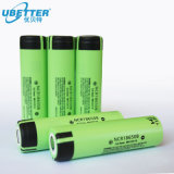 Cella di batteria dello ione di litio di Panasonic NCR18650b 18650