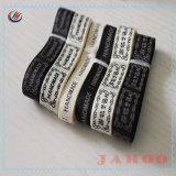 Het uitstekende kwaliteit Aangepaste enig-Gezicht Afgedrukte Etiket van het Lint van het Satijn van de Polyester