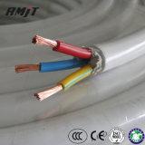 BV/Бсв/BVV ПВХ Оболочки электрические Aluminnum/медный провод заземления корпуса разъема , провод