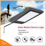 luz de calle solar del jardín de la seguridad al aire libre de 15W 108 LED