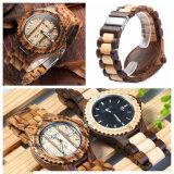 Relógio de madeira personalizado de venda quente de Bewell da chegada 2018 nova