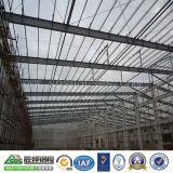 Tettoia d'acciaio professionale prefabbricata strutturale della costruzione del magazzino