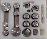 Parete divisoria accessoria Glassfitting della parete divisoria dell'acciaio inossidabile