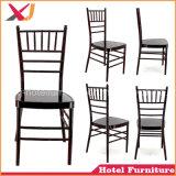 Restaurante de aluminio de acero del hotel de la alta calidad que cena la silla de Chiavari del banquete de la boda
