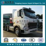 중국 트럭 Sinotruk HOWO A7 6X4 371HP 트랙터 헤드