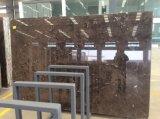 Lajes de mármore escuras & telhas Polished de Emperador Brown para a coberta da parede & de assoalho, mármore de China Brown (YQZ-MT1008)