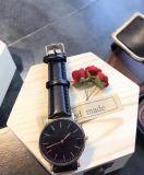 Dw ver relógios de luxo para homens de pulso de quartzo de Nylon (DC-412)