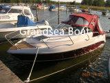 Velocidade de 23FT Barcos de pesca de cabina para venda