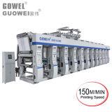 Machine d'impression de rotogravure de couleur de la vitesse 8 pour le film dans 150 Msm
