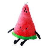 Creador de dibujos animados Cute frutas Sandía almohada Peluche Muñeca de juguete