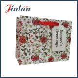 Смычок тесемки красных многоточий изготовленный на заказ продает бумажные хозяйственные сумки оптом одежд
