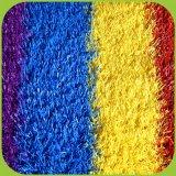 Relvado artificial da grama do arco-íris para o revestimento do jardim de infância