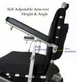 리튬 건전지와 더불어 주요한 질 무브러시 Foldable 전자 휠체어,