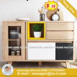 Moderner kundenspezifischer festes Holz-Badezimmer-Eitelkeits-Speicher-Schrank (HX-8NR0643)